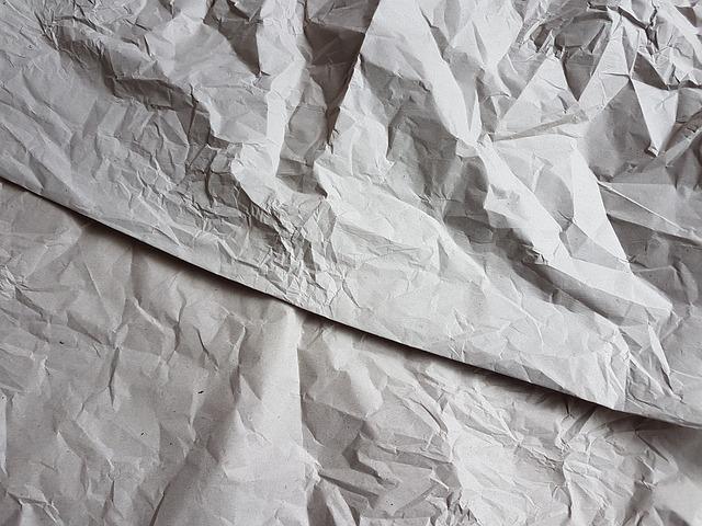 Paper, Wrinkled, Surface, Handmade Paper, Vintage