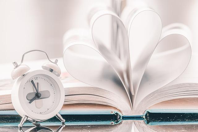 Time, Book, Paper, Bell