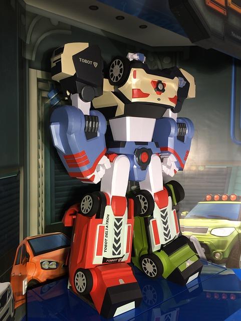 Delta Tron, Robot, Paper Toy