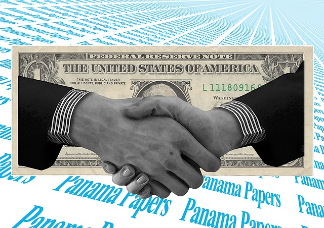 Dollar, Hands, Shake, Panama, Papers, Money, Finance