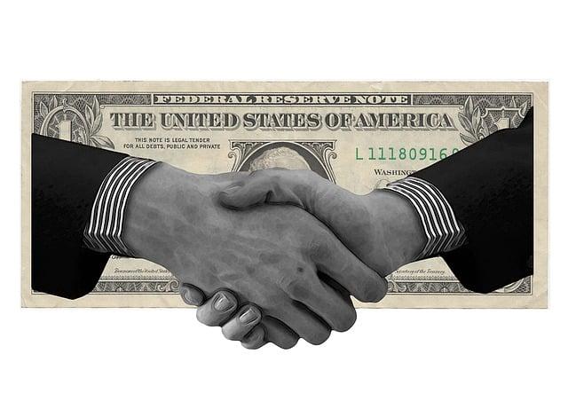 Dollar, Hands, Shake, Panama, Papers, Money, Finance