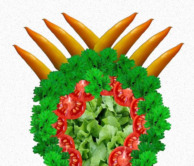 Salad, Paprika, Tomatoes, Parsley, Vegetables, Vitamins