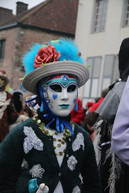 Carnival, Bruges, Costume, People, Parade, Festival