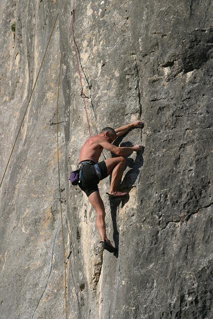 Climber, Rock Climbing, Paradise For Climbers