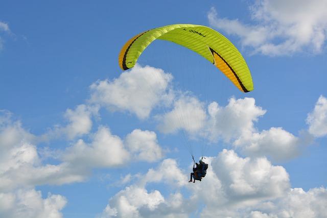 Paragliding, Paraglider, Bi-place Paraglider