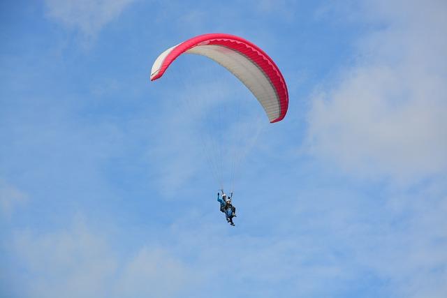 Paragliding, Paragliding Bi-place, Free Flight, Sport