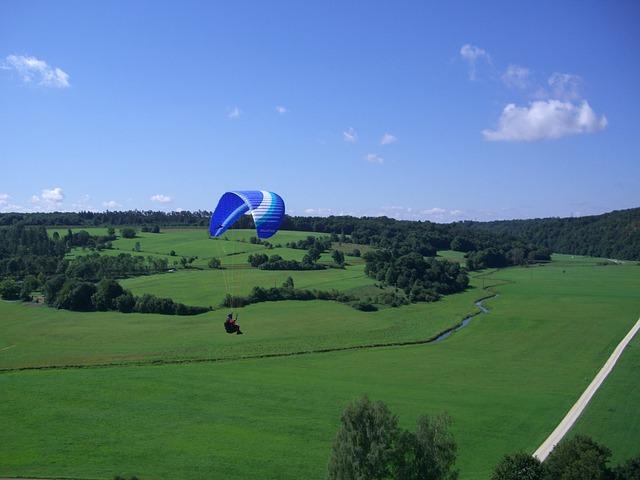Paragliding, Pilot, Paraglider, Floating Sailing, Sky