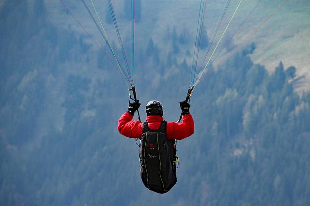 Paraglider, Mountains, Fly, Paragliding, Alpine, Hobby