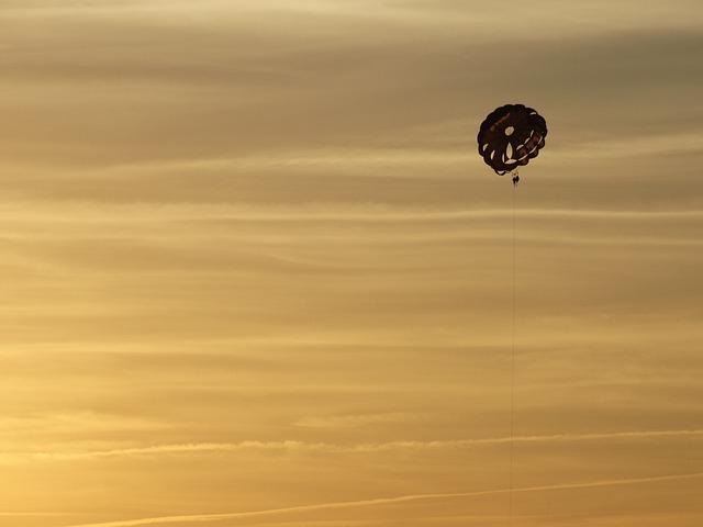Ibiza, Paragliding, Parachute