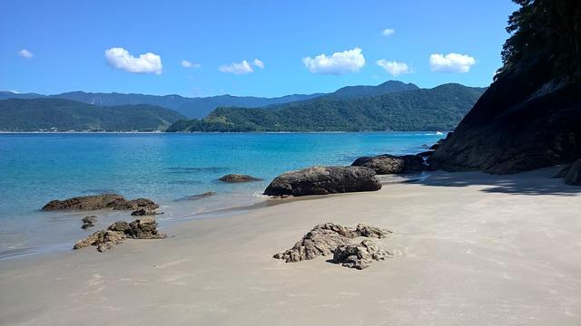 Praia, Mar Azul, Praia Deserta, Paraíso, Mar, Azul