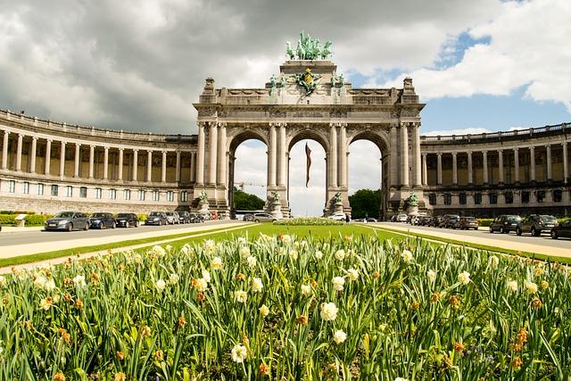 Jubelpark, Parc Du Cinquantenaire, Brussels, Park