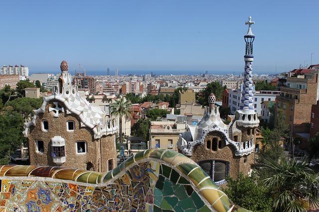 Parc Guell, Gaudí, Barcelona, Spain