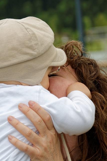 Baby, Mama, Kiss, Love, Emotion, Parents Love