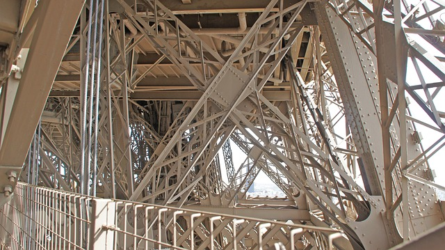 Eiffel Tower, Paris, France, Detail