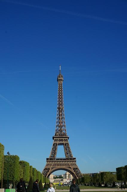 France, Paris, Transmission Tower