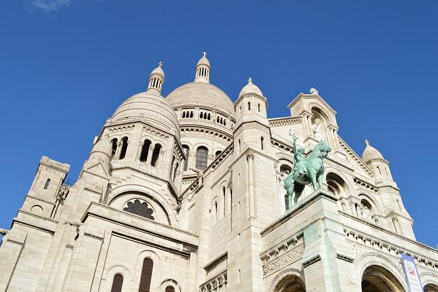 Sacred, Heart, Basilica Of The Sacred Heart, Paris