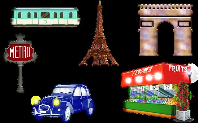 Paris Landmarks, Arc De Triomphe