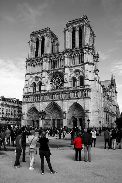 Notre Dame, Cathederal, Tourist Attraction, Paris