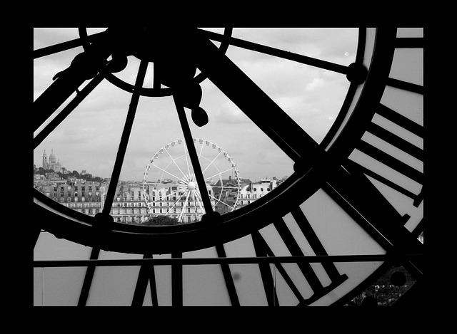 Paris, Clock, Sacre