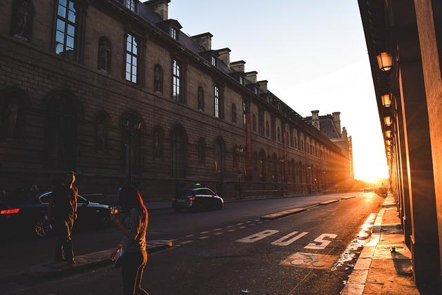 France, Paris, Travel, Sunset, Sunshine, Europe