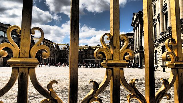 Versailles, Castle, Paris, Places Of Interest, Fence