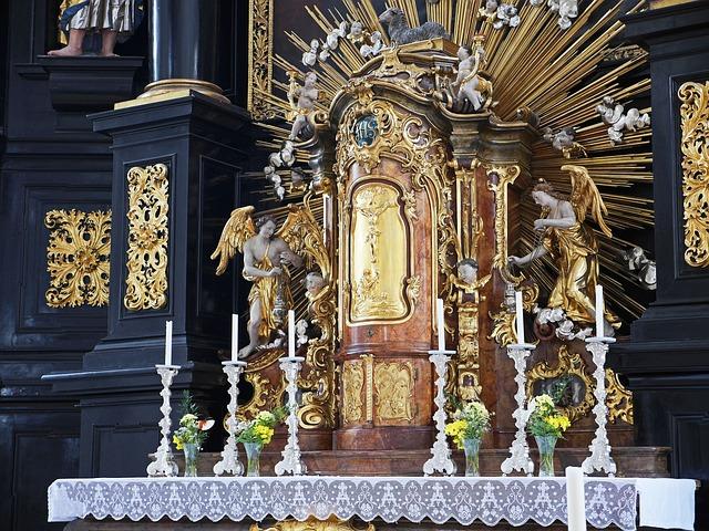 Historical Altar, St Paul, Parish Church, Passau