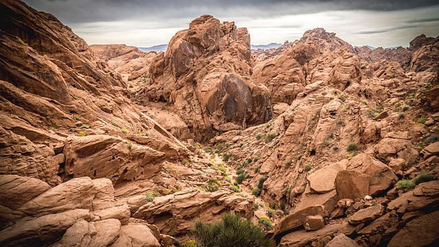 Valley Of Fire State Park, Nevada, Hike, Nature, Park