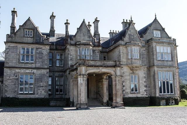 Ireland, Muckross House, National Park, Killarney, Park