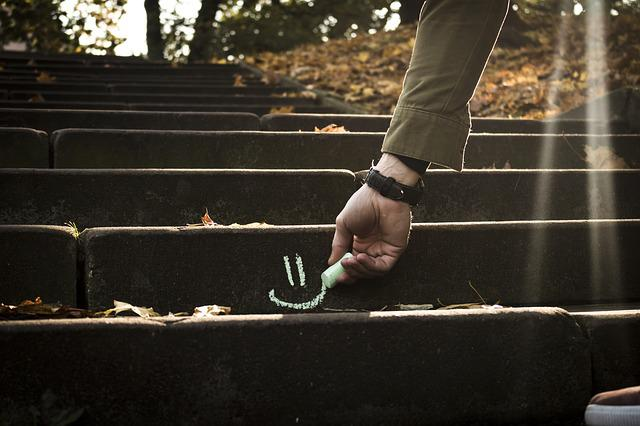 Autumn, Leaves, Park, Stairs, Fall, Nature, Leaf