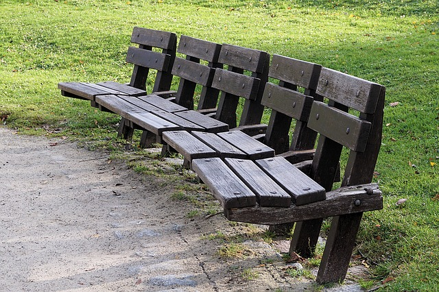 Park Bench, Bank, Sit, Seat, Park, Rest, Bench, Relax