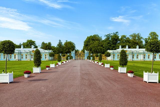 Summer Palace, St Petersburg, Russia, Peterhof, Park