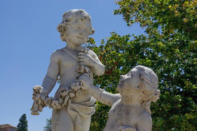 Portugal, Statue, Park, Garden, Lisboa