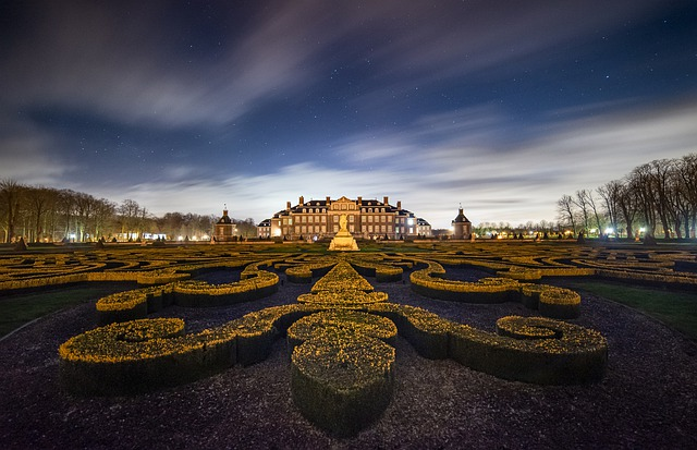 Castle, Schlossgarten, Architecture, Park, Historically