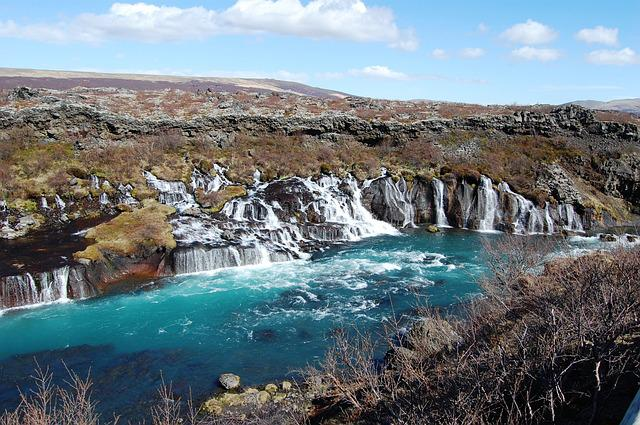 Iceland, Waterfalls, Landscape, Park, View
