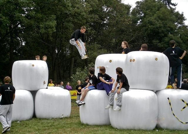 Parkour, Jump, Sport, Skipping, Boy, Movement