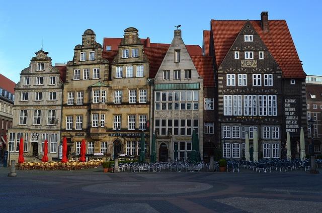 Bremen, Marketplace, Becks On Market, Parlor
