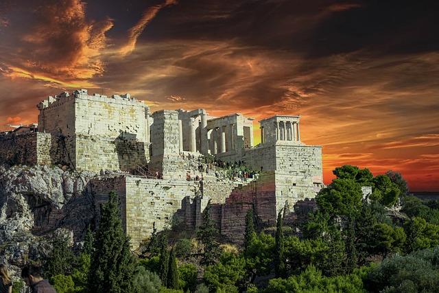 Acropolis, Athens, Greece, Parthenon, Greek, Temple