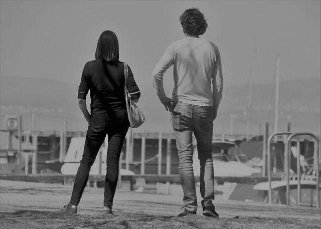 Black And White, Past, He And She, Parting, End