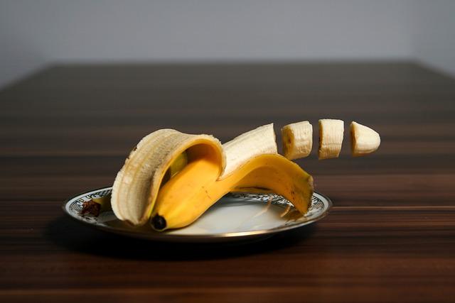 Banana, Fruit, Yellow, Delicious, Fruits, Pieces, Parts