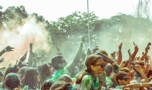 Color, Party, Girl, Children, Concert, Carnival, Colors