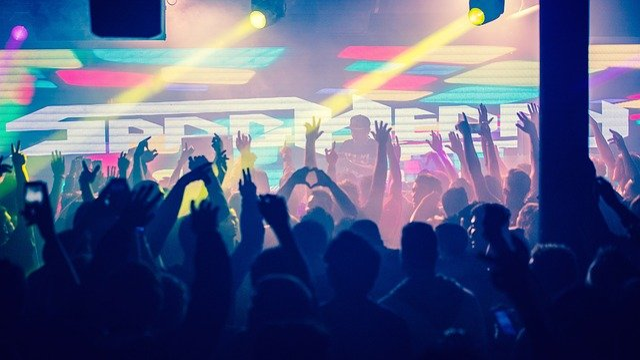 People, Man, Woman, Party, Celebration, Concert, Lights