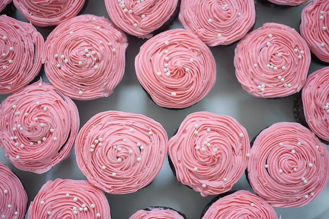 Cupcakes, Party, Pastry, Dessert, Sweet, Celebration