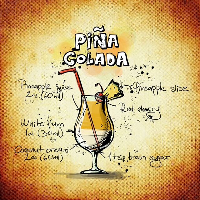 Cocktail, Pina Colada, Party, Drink, Alcohol, Recipe