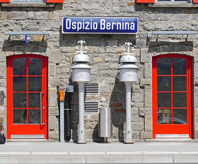 Bernina, Pass, Railway Station, 2256 M, Ospizio Bernina