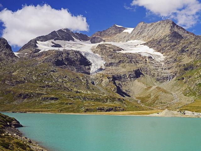 Bernina Pass, Graubünden, Switzerland, Engadin, Pass