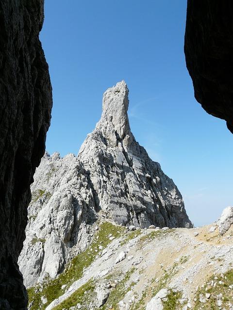 Head Törl, Pass, Pinnacle, Rock Points, Limestone, Rock