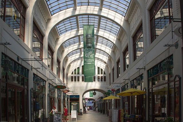 Görlitz, Strasbourg Passage, Passage