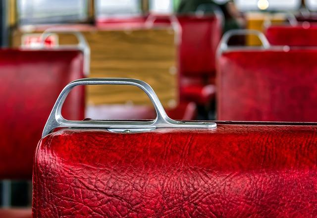 Wagon, Seat, Red, Zugfahrt, Passenger Compartment