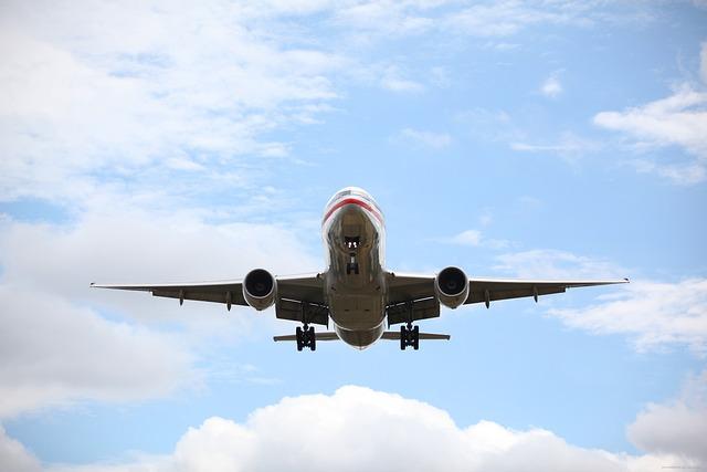 Passenger Plane, Passenger Jet, Airplane, Landing Gear
