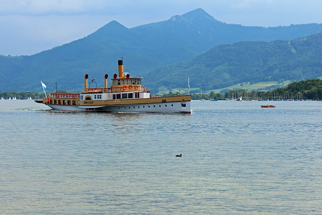 Paddle Steamer, Paddle Steamers, Passenger Ship